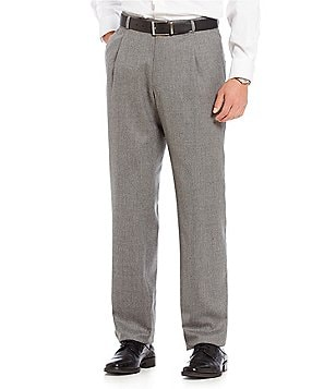 Cremieux Modern Fit Solid Pleated Front Dress Pants
