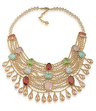 Carolee Cosmopolitan Club Statement Necklace