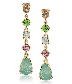 Carolee Cosmopolitan Club Linear Drop Earrings