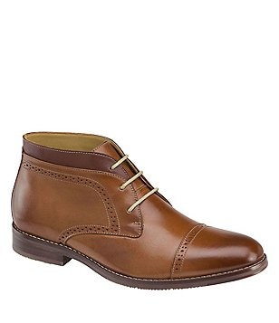 Johnston & Murphy Men´s Garner Leather Lace-Up Chukka Boot