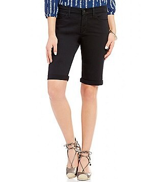NYDJ Briella Roll-Cuff Bermuda Shorts