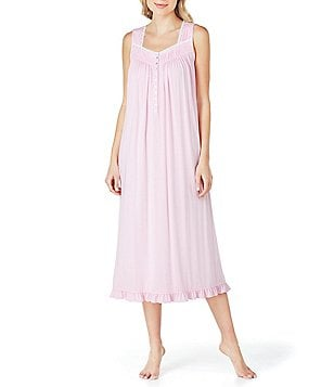 Eileen West Lace-Trimmed Ballet Nightgown
