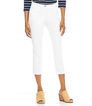 Pendleton Straight Leg Cavalry Twill Crop Pants