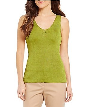 Sigrid Olsen Signature Sweater Tank