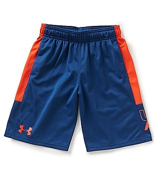 Under Armour Big Boys 8-20 Color Block Stunt Mesh Shorts