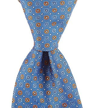 Brooks Brothers Formal Floral Traditional Silk Tie