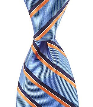 Brooks Brothers Striped Traditional Silk Tie