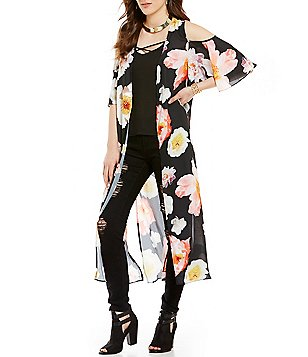GB Cold Shoulder Duster
