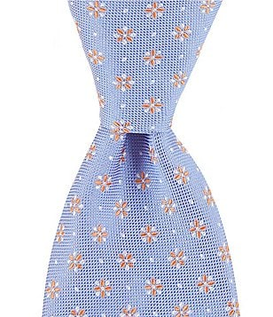 Brooks Brothers Petite Floral Traditional Silk Tie
