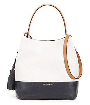 MICHAEL Michael Kors Kip Tasseled Large Bucket Bag