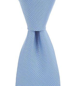 Brooks Brothers Textured Solid Traditional Silk Tie