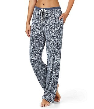 DKNY Spotted Jersey Sleep Pants