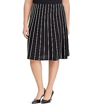 Lauren Ralph Lauren Plus A-Line Sweater Skirt