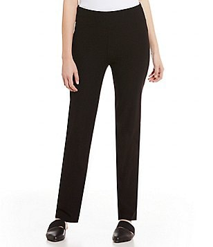 Eileen Fisher Stretch Crepe Slim Ankle Pant