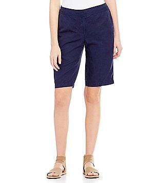 Eileen Fisher Walking Flat Front Shorts
