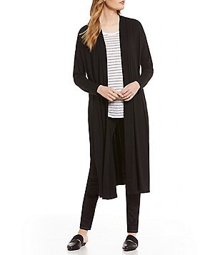 Eileen Fisher Kimono Elongated Cardigan