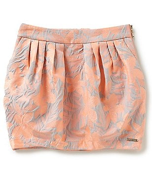 Marciano Big Girls 7-16 Brocade Floral Skirt