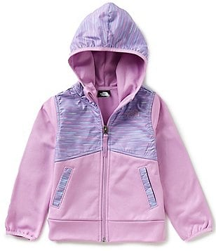 The North Face Little Girls 2T-4T Kickin It Printed Taffeta Hoodie