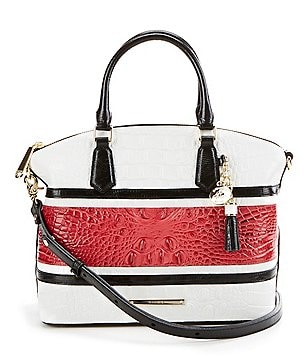 Brahmin Lovina Collection Duxbury Satchel
