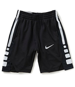 Nike Big Boys 8-20 Dri-FIT Elite Striped Basketball Shorts