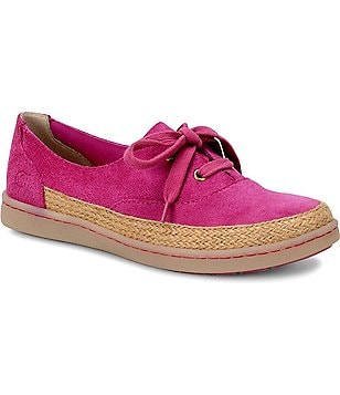 Born Capela Suede Espadrille Style Lace Up Sneakers