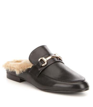 Steve Madden Jill leather loafers at Dillards