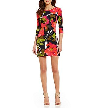trina by Trina Turk Tina Floral Sheath Dress