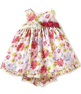 Laura Ashley London Baby Girls 12-24 Months Floral-Print Dress