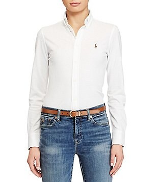 Polo Ralph Lauren Classic Signature Pony Knit Oxford Shirt