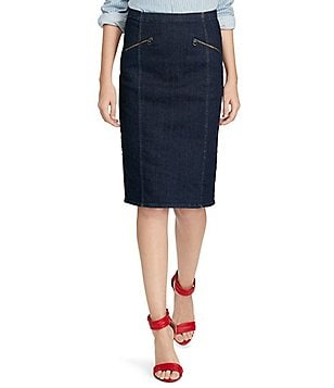 Polo Ralph Lauren Denim Pencil Skirt
