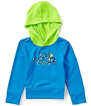 The North Face Little Boys 2T-4T Long Sleeve Hike/Water Hooded Tee