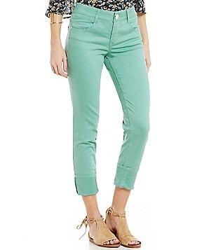 Jolt Rolled Cuff Techno Tuck Skinny Pants