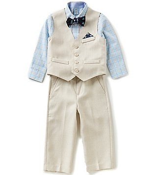 Class Club Little Boys 2T-7 4-Piece Vest Suit Set