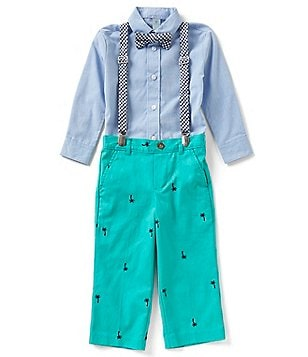Class Club Little Boys 2T-7 4-Piece Dress Set