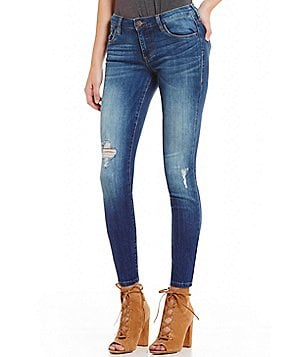 STS Blue Piper Slightly Destructed Skinny Jeans