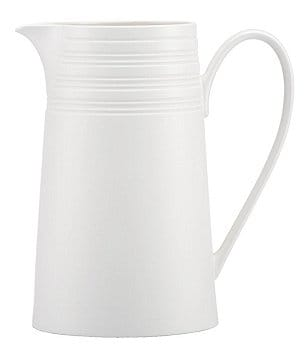 kate spade new york Fair Harbor Channel-Rimmed Stoneware Pitcher