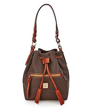 Dooney & Bourke Small Logan Tasseled Drawstring Bag