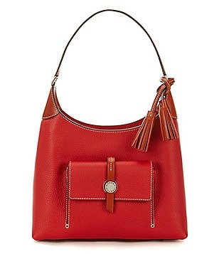Dooney & Bourke Cambridge Collection Tasseled Small Hobo Bag