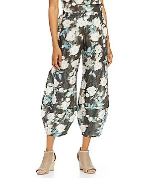 Bryn Walker Oliver Crunch Taffeta Pull-On Pants