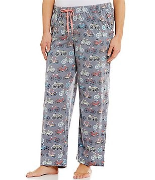Sleep Sense Plus Bike-Print Sleep Pants