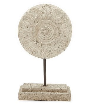 Southern Living Floral Medallion Ash Statue