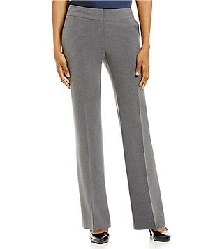 Alex Marie Modern Bi-Stretch Straight-Leg Pant