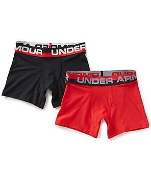 Under Armour Big Boys 8-20 Boxer Brief 2-Pack