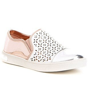 MICHAEL Michael Kors Girls´ Ollie Gwen Cutout Metallic Sneakers