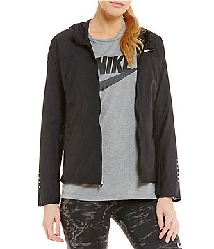 Nike Impossibly Light Running Water-Repellent Jacket-Hooded