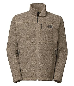 The North Face Gordon Lyons Full-Zip Mock Neck Sweater Knit Fleece Jacket
