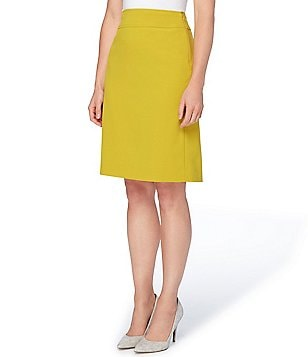 Tahari ASL Petite Bi-Stretch Pencil Skirt