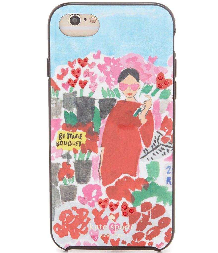 kate spade new york Jeweled Floral Bella iPhone 7 Case