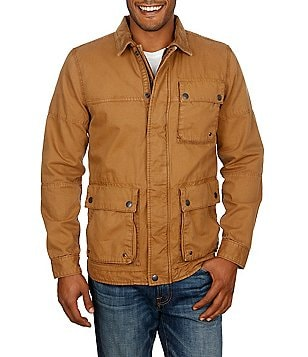 Lucky Brand Barn Corduroy Collar Full-Zip Jacket