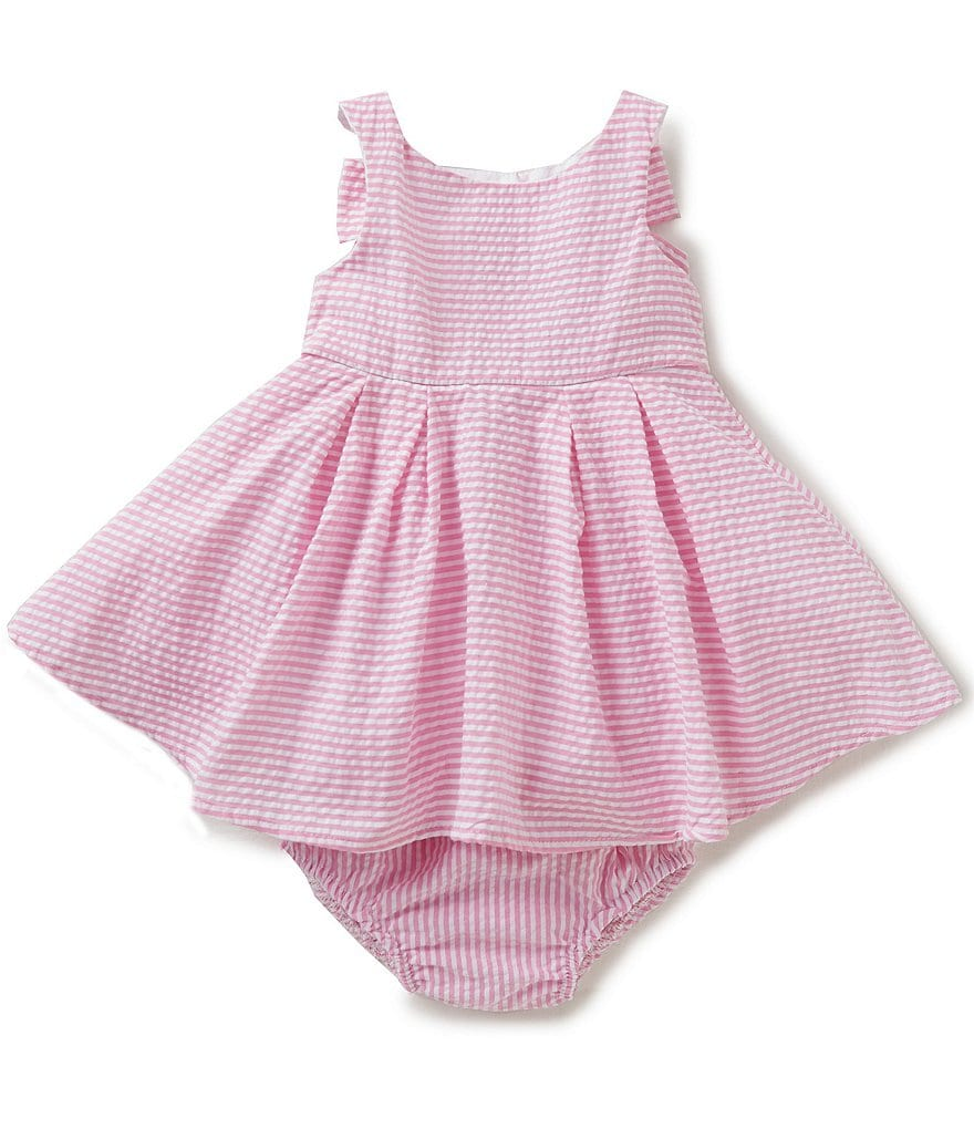 Rare Editions Baby Girls 3 24 Months Striped Seersucker